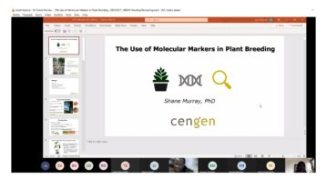 A second opportunity in June to promote Plant Genetics